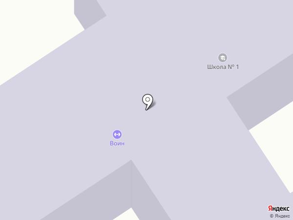 Бабяковская средняя общеобразовательная школа №1 на карте