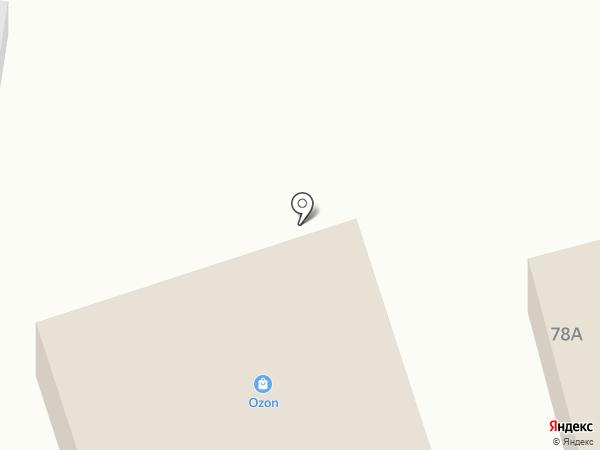 Рузанна на карте