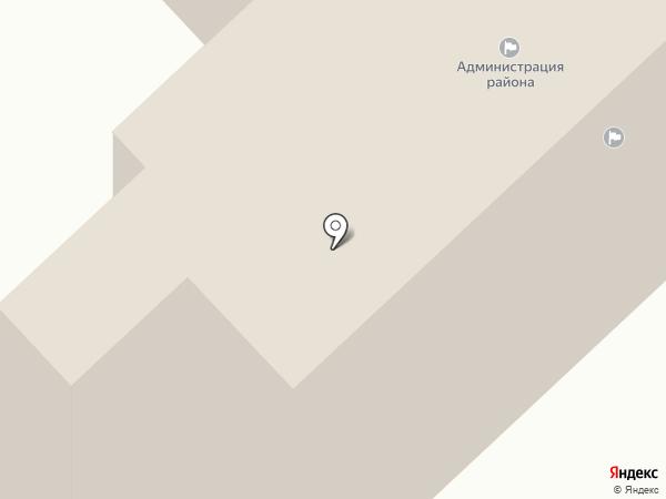 Администрация Новоусманского муниципального района на карте