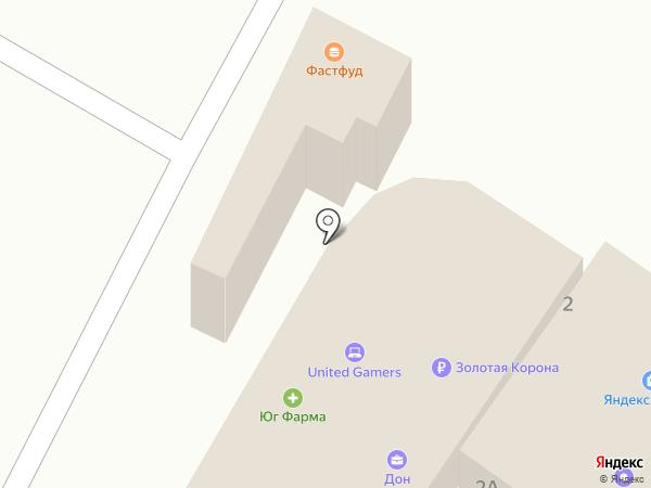 Юг-Фарма на карте