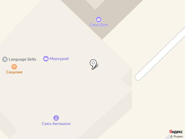 Мишутка на карте