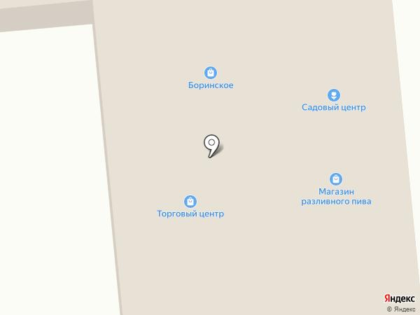 Продуктовый магазин эконом-класса на карте