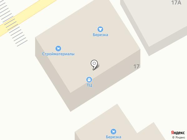 Берёзка на карте