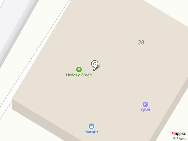 Приятель на карте