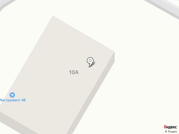 Инструмент 48 на карте