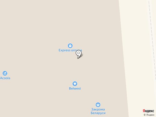 Торговая зона на карте