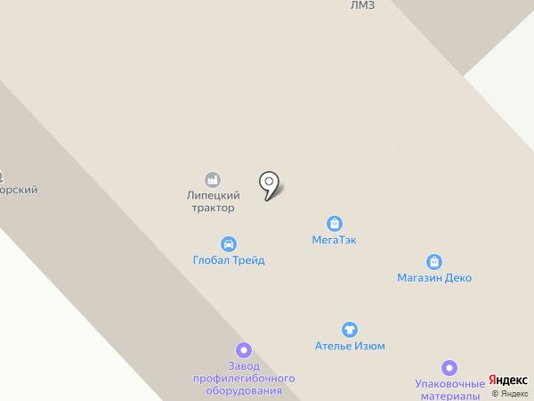 Липецкий Центр Информирования Покупателей на карте
