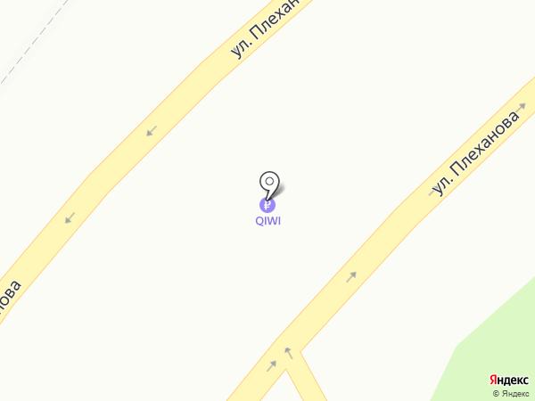 Хрущевский на карте