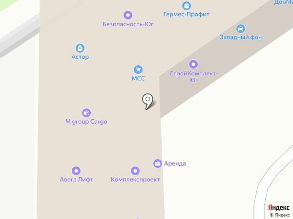 Мир Окон на карте