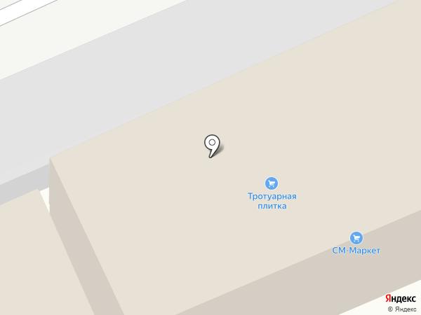 Два А на карте