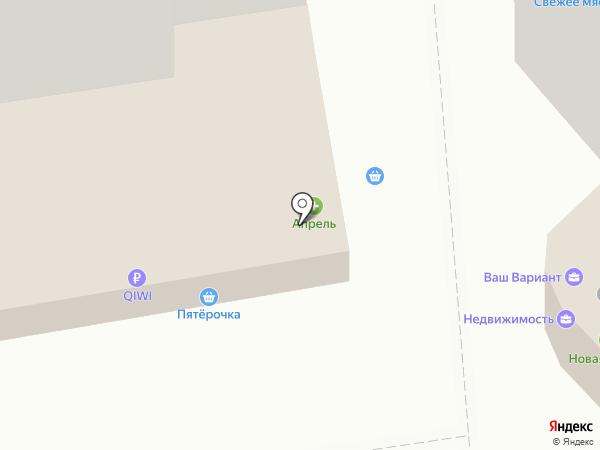 Донская пристань на карте