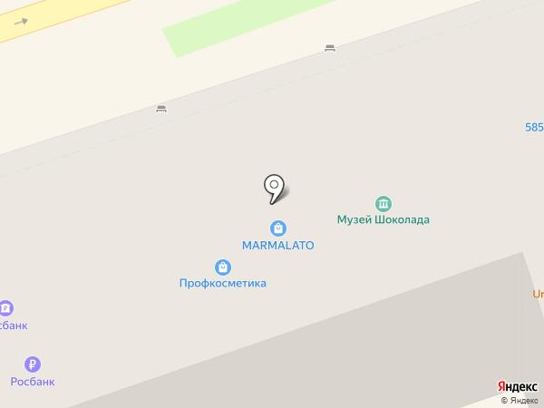 Секонд-хэнд на карте