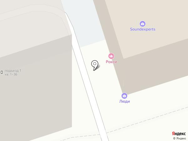 ДзанСин на карте