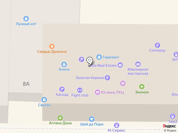 Матреша на карте