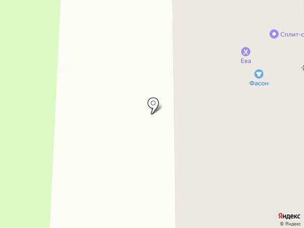 Ателье на Речной на карте