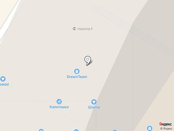 Лига на карте