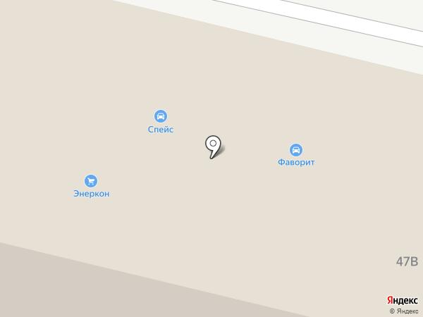 СПЭиС на карте