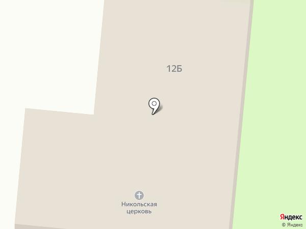 Храм святителя Николая на карте