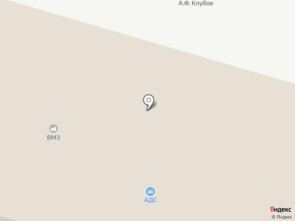 У переезда на карте