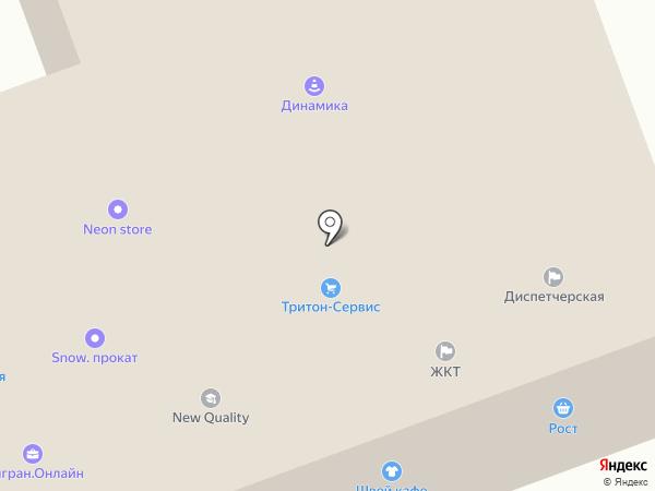 РОСТ на карте
