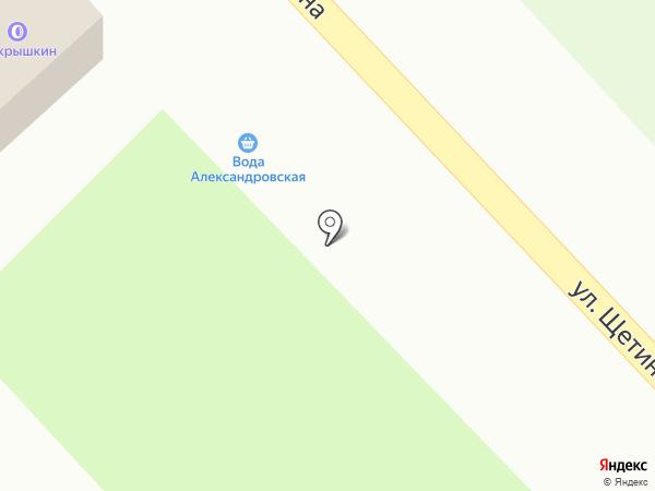Покрышкин на карте