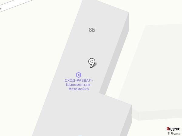 Транс-Лидер на карте
