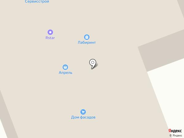 Сервисстрой на карте