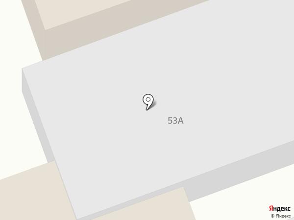 Южная на карте