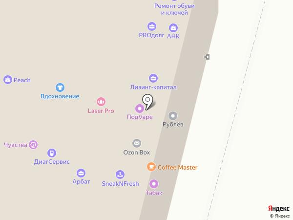 Московский кредитный банк на карте