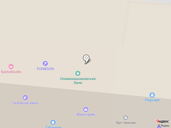Табачная Империя на карте