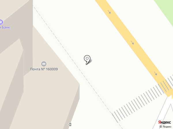 Управление специальной связи по Вологодской области на карте