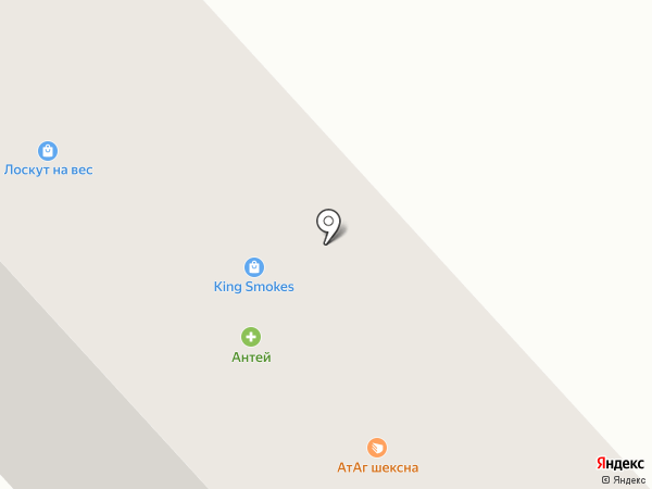 Атаг на карте