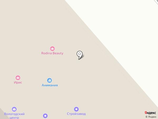 Туристско-информационный центр Вологодской области на карте