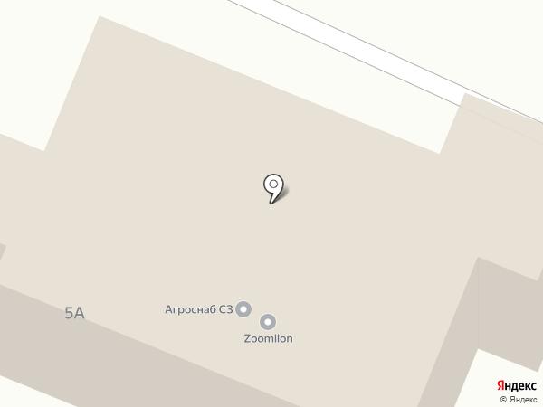 Криогаз на карте