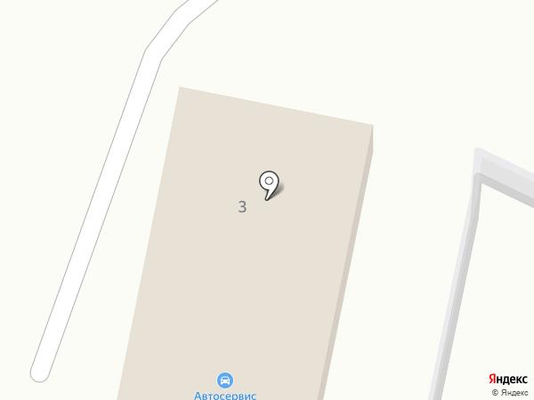 Пункт автосервиса на карте