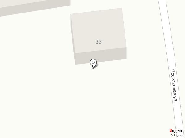 На Поселковой на карте