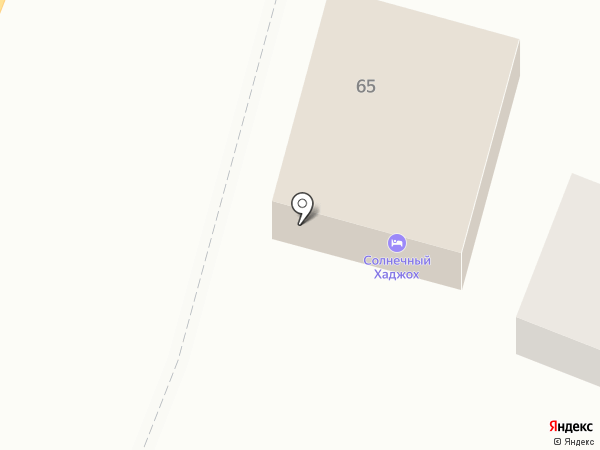 Солнечный Хаджох на карте