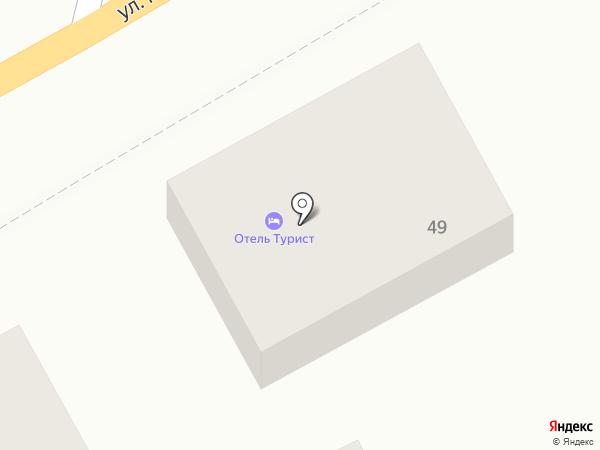 У Лидии на карте
