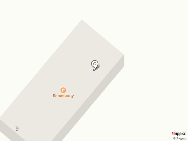Рафтинг А на карте