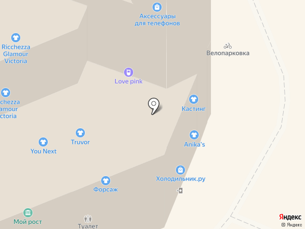 Top style на карте