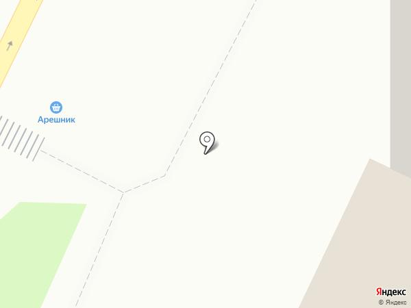Магазин шаурмы на карте