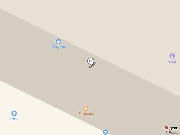 Хохлома на карте