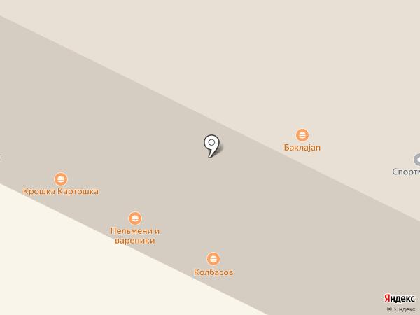 Колбасов на карте