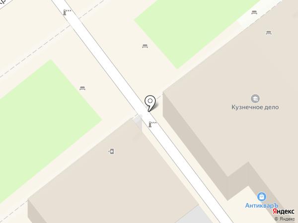 Блинная на Кремлевской на карте