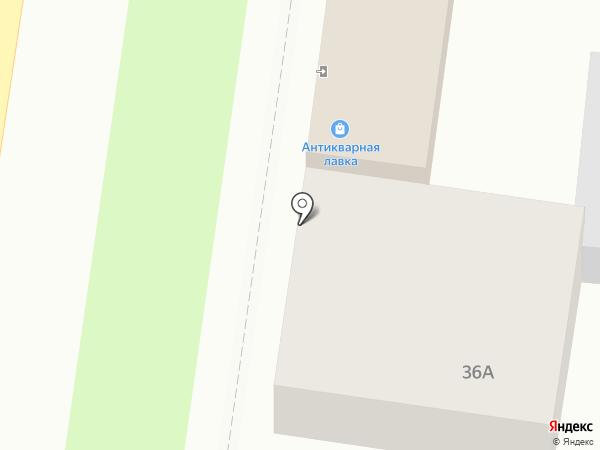 Антикварный салон на карте