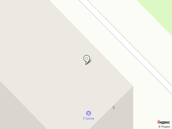 Триада на карте