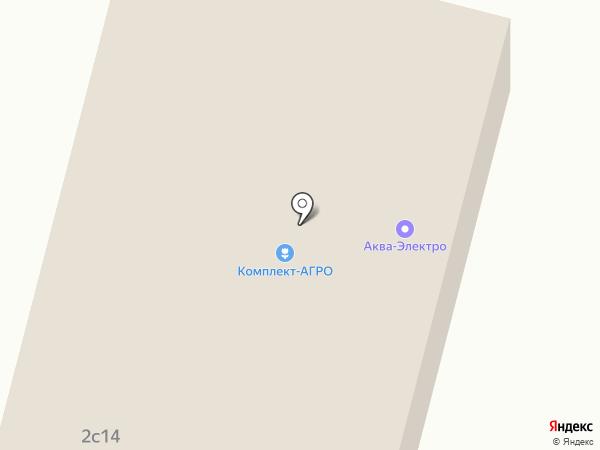 Колесник на карте