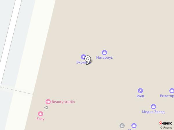 Архсервис на карте