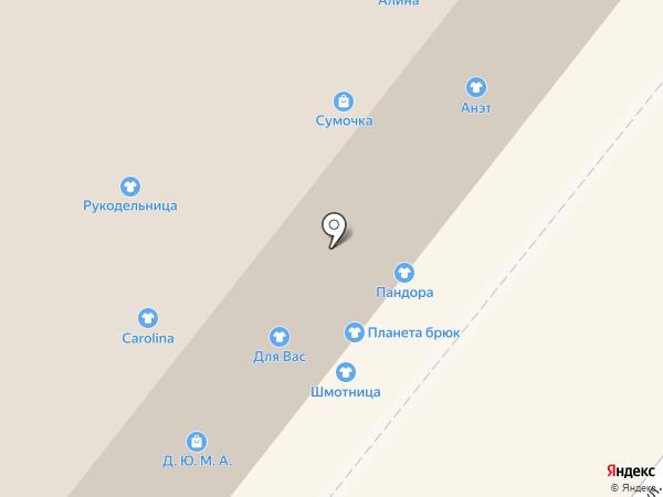 Планета брюк на карте