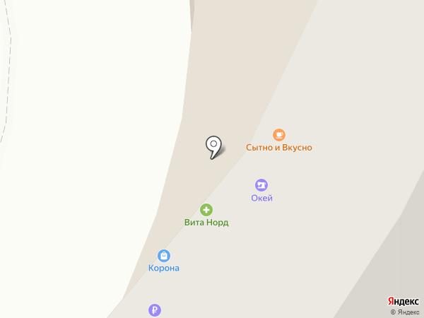 Банкомат, Меткомбанк на карте